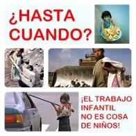 trabajo infantil no es cosa de niños
