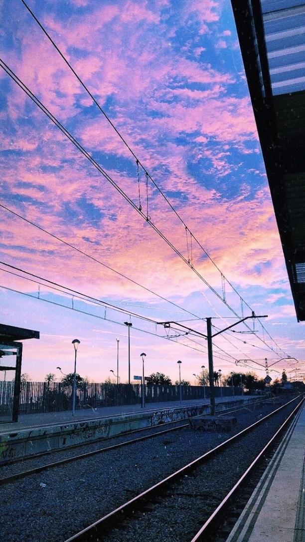 María Justo 1ºAH estación tren Leganés