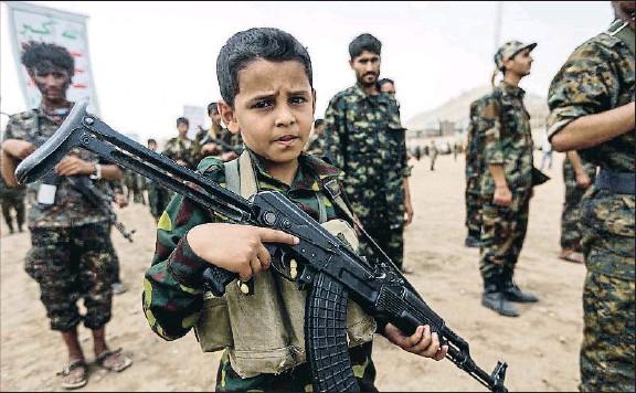 niño soldado oriente próximo