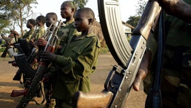 niños soldado africanos