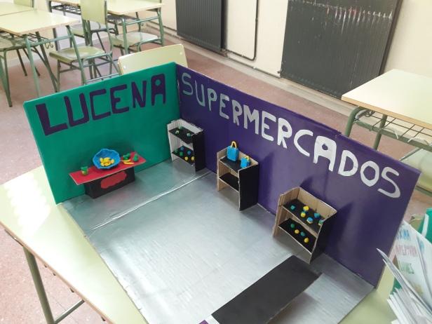 1º ESO PROYECTO SUPERMERCADO