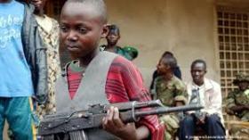 niño soldado Africa