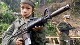 niños soldado Asia